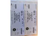 2 x Take That Tickets
