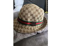 Diesel and Gucci hats