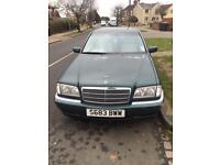 Mercedes C200 Auto LPG, good condition