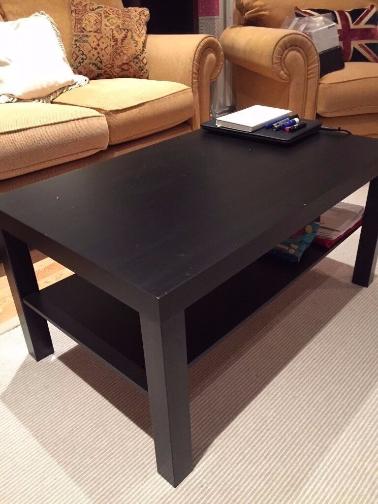 Black coffee table - SOLD