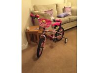 Girls 16 inch Bike / perfect condition