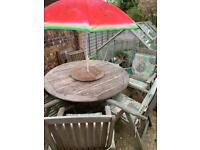 Garden Furniture. 6 seater solid wood