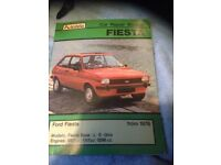 1976 Ford Fiesta Car Repair Manual