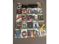 Xbox 360 games + connect and control