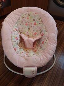 Perfect newborn Pink bouncer (insert & head suport)
