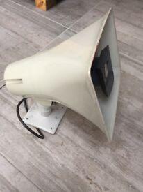 Valcom paging horn v-1030c