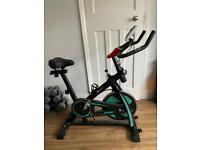 Spin bike hardly used £125