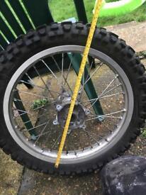 Motor x wheels