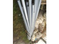 "Plastic 4""ducting pipes"