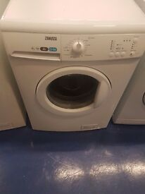 Zanussi washing machine is in perfect working order and in good condition 8 kilo