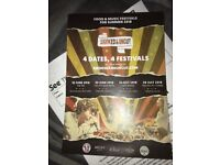2 adult tickets Smoked & uncut fest, pig nr Bath, Sat 30 June