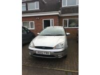 £520 ono, Ford Focus, MOT, good condition, low mileage, practical, reliable & economical family car.