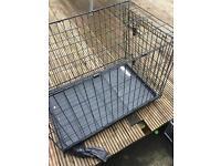 Med size dog cage