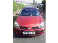 2005 1.1 Renault Clio 5 Door