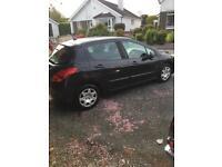 2008 Peugeot 308 1.6HDI (Cheap)