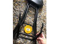 Kinsman guitar player stool and stand - cheap