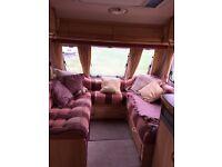 Sterling Eccles Onyx 4 berth 2001 end fixed bed Caravan
