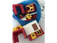 Large bag Lego duplo - vintage house/barn/odds