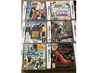 Nintendo dsi and 12 games