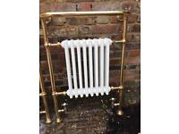 Broughton Style Cast Iron Bathroom Radiators x2