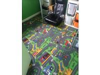 Cars / Roads Carpet