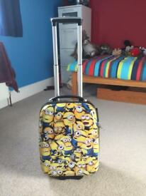 Minion trolley suitcase