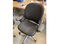 Multiple Black Second Hand Desk Chairs