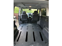 Mercedes breaking W639 Vito Dualiner Rear Floor Liner Boot Mat Carpet for Compact Short Wheelbase