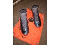 Nike mercurial football boots. Never worn. Return date expired. £90