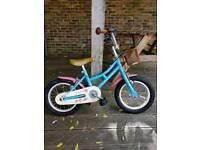 Girls 14 inch Dawes Bike.