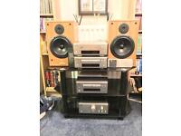Reduced!! Denon 6.5 hifi stack system with speakers