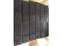 11 Keyboards (10 x HP, 1 x Lenovo)