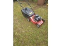 Sovereign 19 inch push lawnmower briggs and stratton engine