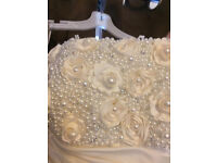 Alfred Angelo Diamond White Wedding Dress Size 16 1 Owner from brand new