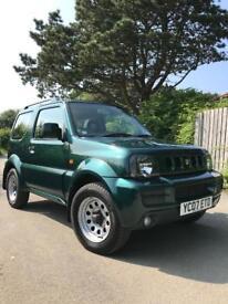 Suzuki jimny 1.3 JLX MT - metallic green