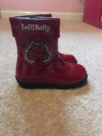 Lelli Kelly toddler boots size 5.5