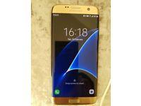Samsung s7 edge mobile phone