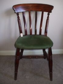 Slatted Back Chair