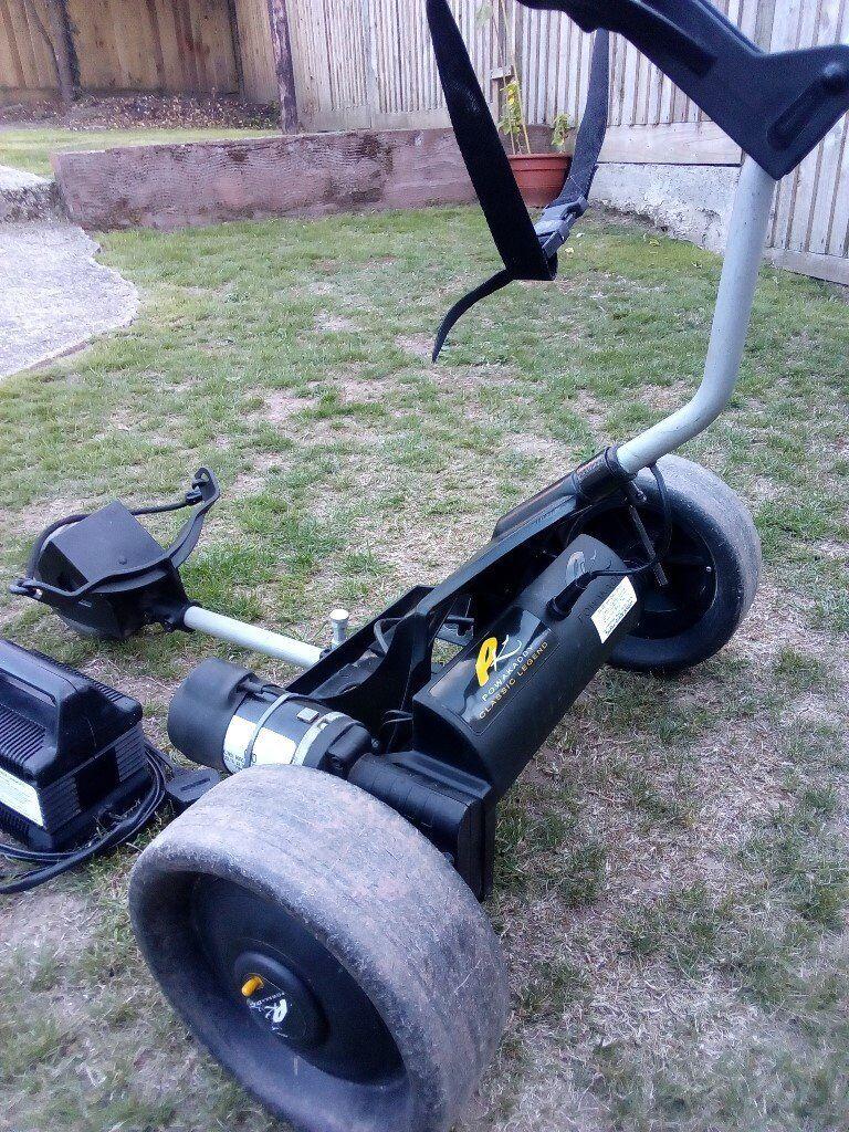 Powakaddy Classic Legend Electric Golf Trolley - superb   in Honiton, Devon    Gumtree