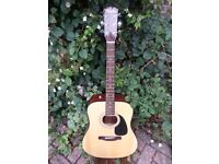 FENDER CD60 ACOUSTIC - NATURAL FINISH, PRO SET UP LOW ACTION