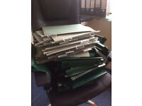 Large lot of office storage suspension files for sale - mixture of 2 sizes