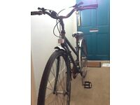 Second-hand Raleigh Pioneer bicycle (green, small, ladies, work needed) £15 o.n.o.