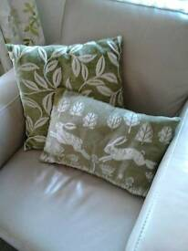 M and S cushions