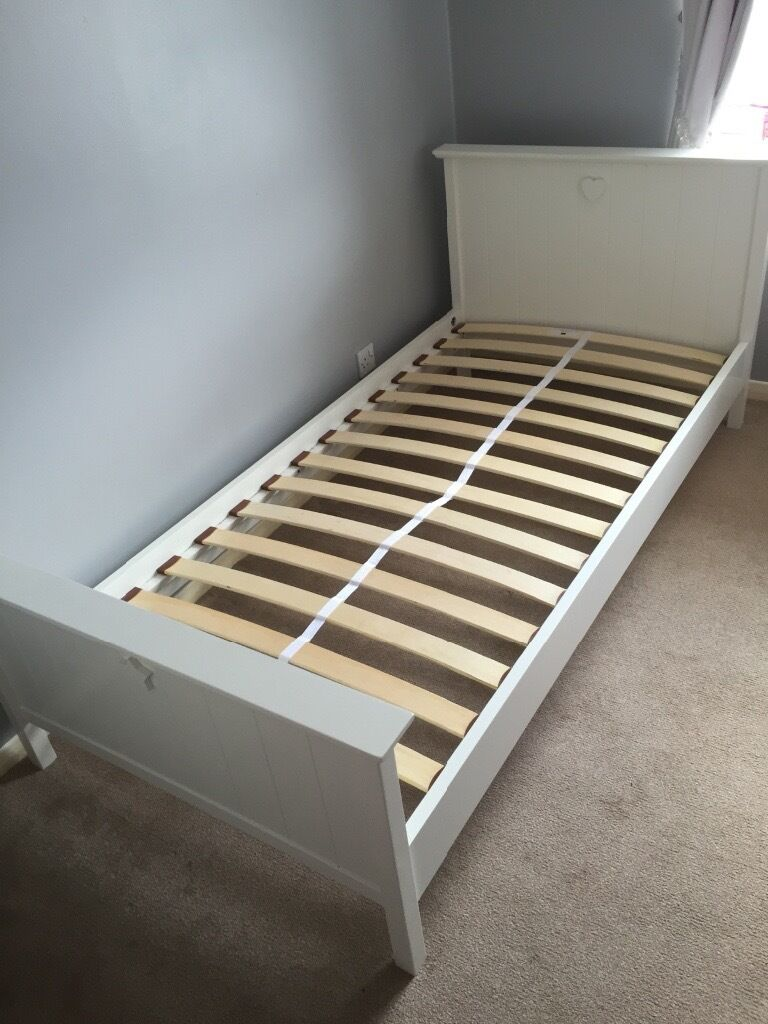 Next White Wooden Single Bed Frame In Loughton Essex Gumtree