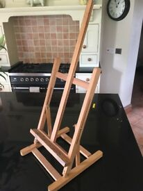 Artists easel wooden