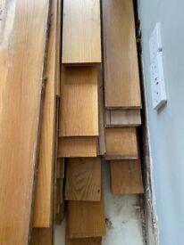 Solid oak wood flooring