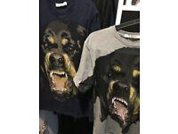 Givenchy Tshirt - Grey and Navy - MEDIUM - £25 FOR BOTH