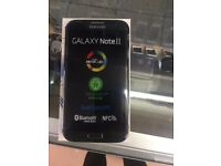 Samsung Galaxy Note 2 32GB,Refurbished, Unlocked, With Warranty Black colour