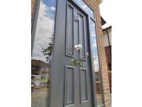 GREAT PRICE FOR USED SECURITY METAL DOORS MISMEASURED