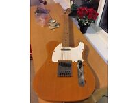 Fender Squier Telecaster and Marshall MG series 10CD Amp (Good to start for beginners)